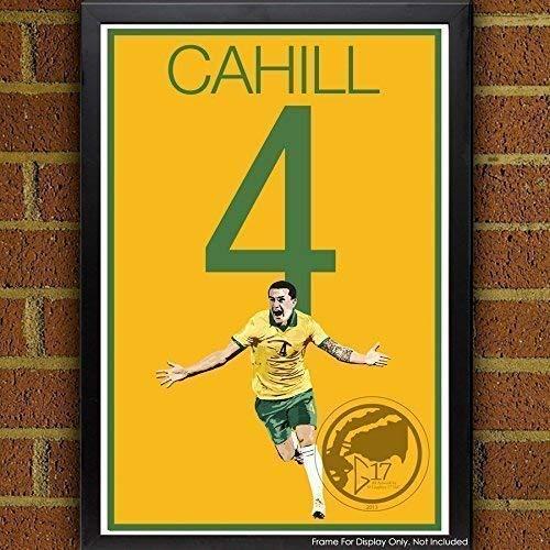 Tim Cahill Poster - Australia Soccer Art ()