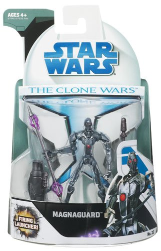Wars Figures Wars Star Clone (Star Wars 2008 Clone Wars Animated Action Figure No. 22 Magnaguard)