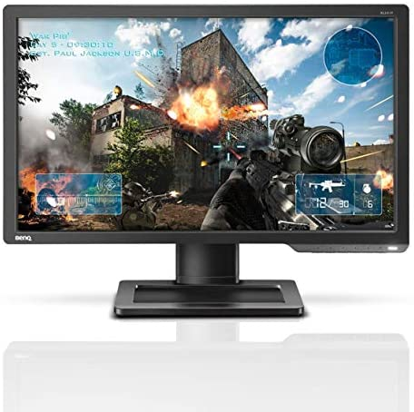 BenQ ZOWIE XL2411P 24 Inch 144Hz Gaming Monitor 1080P 1ms Black eQualizer & Color Vibrance for Competitive Edge Does no longer Support 120Hz on console