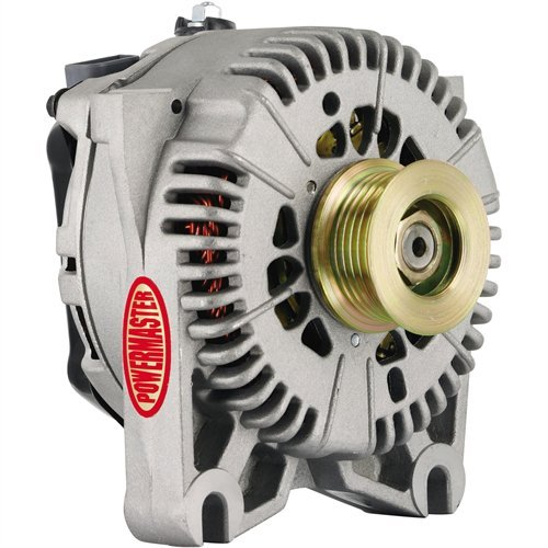 Powermaster Performance 7781 Natural Alternator (4G 140A 6 Groove Pulley V Mating I-D-A ()