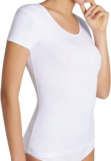 YSABEL MORA - Camiseta TERMICA Manga Corta Mujer Mujer: Amazon.es: Ropa y accesorios