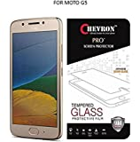 Chevron Moto G5 [5th Gen 5inch 2017] Screen Protector Tempered Glass