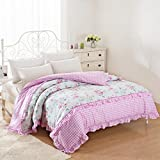 Cotton quilt cover,Quilt cover Single [single or double] The spring and autumn period [korean version] Thicken-K 220x240cm(87x94inch)