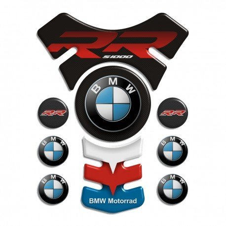Motorbike Tank Pad Protector Motorcycle Scratch Pad compatible ''BMW S1000RR Sport Elite '