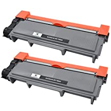 Supricolor 2 Pack toner cartridge replacement for Brother TN660 TN 660 TN-660 TN630 Compatible with Brother MFC-L2700DW HL-L2340DW MFC-L2740DW DCP-L2520DW DCP-L2540DW HL- L2360DW HL-L2380DW HL-L2300D MFC-L2720DW HL-L2320D MFC-L2705DW Printer