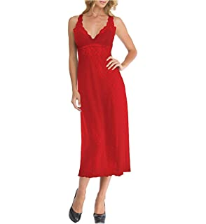 Arianne Womens Full Slip 34 Inch with Lace Trim and Adjustable Strap