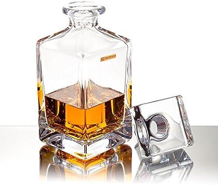 Spiegelau & Nachtmann Botella de Whisky (0,75L, Cristal, Paola Julia 8055