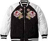 Dolce & Gabbana Kids Girl's Down Jacket -Short (Little Kids) Black 6