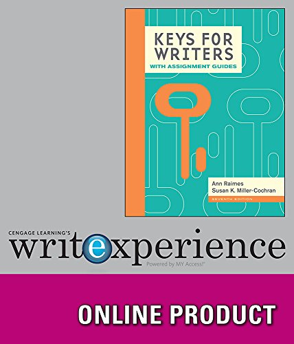 Cengage Learning Write Experience 2.0 (Powered by MyAccess) for Raimes