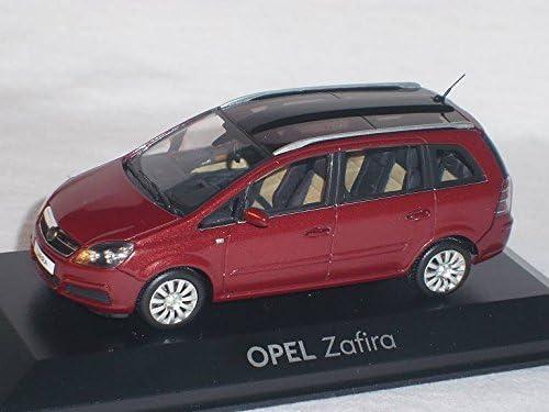 Opel Zafira Rot 2 Generation 1 43 Minichamps Modell Auto Modellauto Sonderangebot Spielzeug