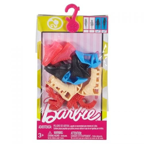 Barbie Accessories Curvy & Tall Doll Shoe Pack
