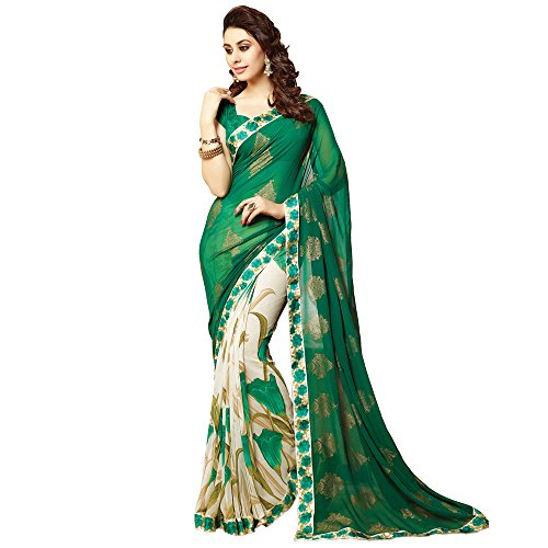 ood Saree Party Wear Pakistani Designer Sari Wedding ()