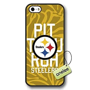 NFL Pittsburgh Steelers Team Logo Case For Samsung Note 2 Cover Black Hard Plastic Case CovBlack 1