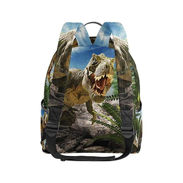Dinosauro 3D Tyrannosaurus Rex zaino per donne adolescenti ragazze borsa borsa alla moda borsa per bambini viaggio… 3 spesavip