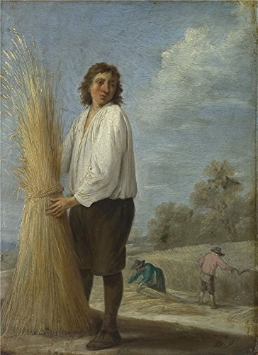The Polyster Canvas Of Oil Painting 'David Teniers The Younger Summer ' ,size: 10 X 14 Inch / 25 X 35 Cm ,this Imitations Art DecorativeCanvas Prints Is Fit For Hallway Gallery Art And Home Decoration And ()