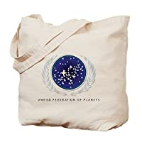 CafePress - United Federation of Planets Tote Bag - Natural Canvas Tote Bag, Cloth Shopping Bag from CafePress
