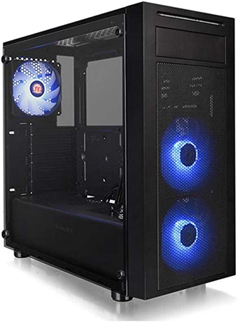 Thermaltake Versa J22 TG RGB - Caja Gaming para PC, Color Negro: Thermaltak: Amazon.es: Informática