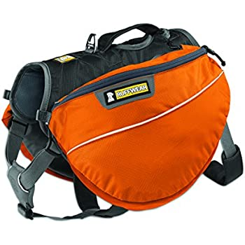 Ruffwear - Approach Full-Day Hiking Pack for Dogs, Campfire Orange, X-Small