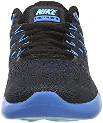 Nike Lunarglide 8 Blackmulticolordeep Royal Bluephoto Blue Womens Running Shoes