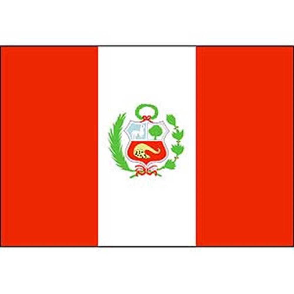 EagleEmblems F2086 Flag-Peru 2ftx3ft