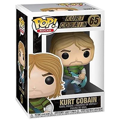 Funko Pop! Music: Kurt Cobain (Teen Spirit) Collectible Figure: Nirvana, Kurt Cobain: Toys & Games