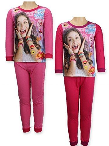 Soy luna - Pijama - para niña rosa claro 8 años