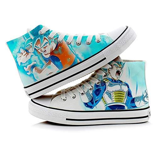 Telacos Dragon Ball Z Son Goku Vegeta Cosplay Shoes Canvas Shoes Sneakers 4 Choices -
