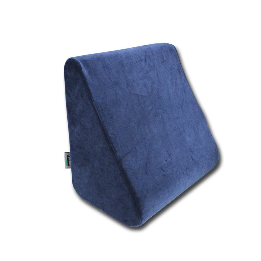 Lumbar pillow Seat Cushion Comfort Memory Foam Orthopedic Chair Pillow Back Pain Relief Sciatica Tailbone Pain Back Support Seat Cushion Office Car Sitting Pregnancy Travel Driving Seat Cushion