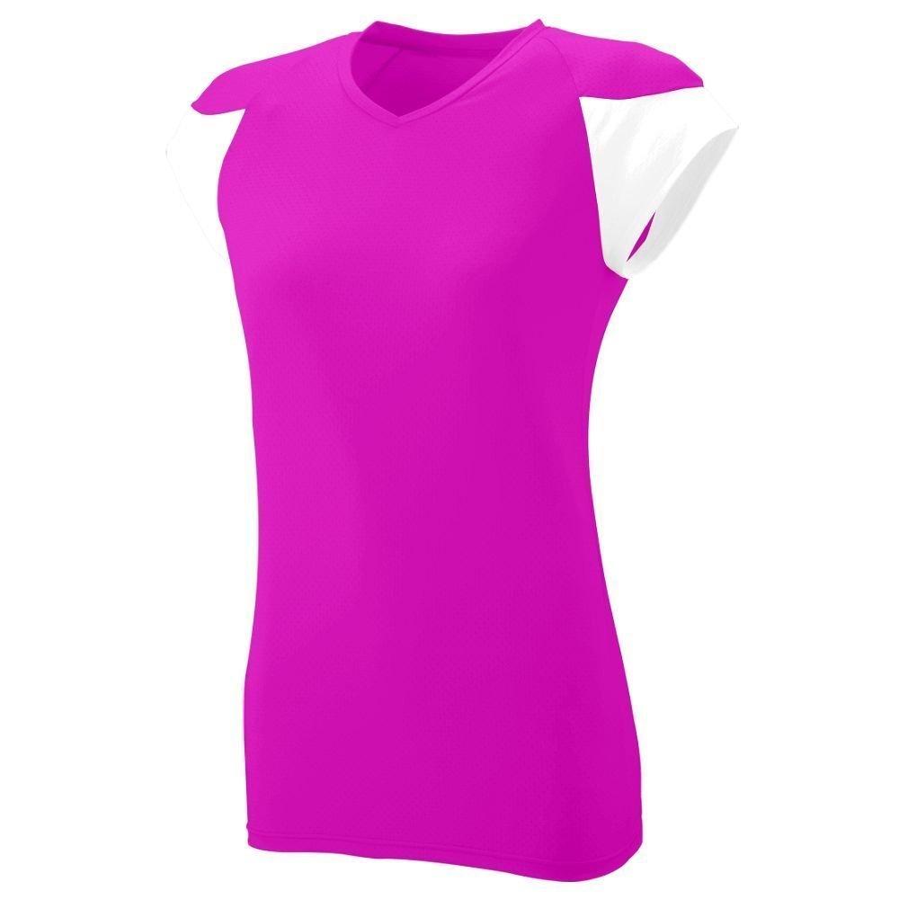 Augusta SportswearレディースMVPジャージー B00HJTM9BI M|ピンク/ホワイト(Power Pink/White) ピンク/ホワイト(Power Pink/White) M