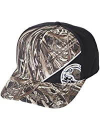 Mens Side Shot-Curved Flexfit Hat