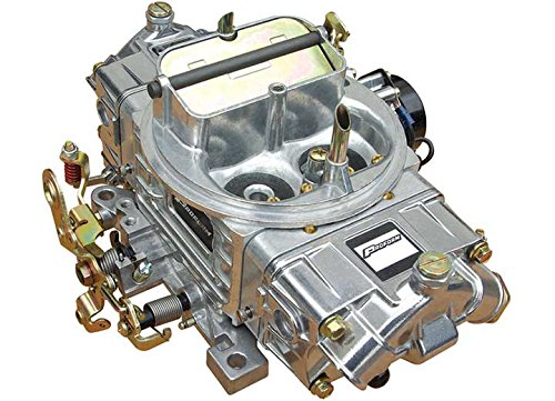 Proform 67255 Street Upgrade Series 650 CFM Polished Aluminum Dual Inlet 4-Barrel Square Bore Mechanical Secondary Carburetor with Electric Choke