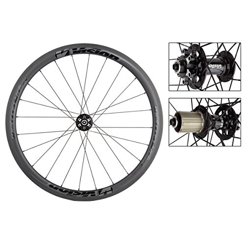 FSA Vision Metron 40 DB Clincher Bicycle Wheelset - WH-VT-840CH (Black Decal - 24/28H-700C - Shimano-11 Speed) -  710-0154BKG