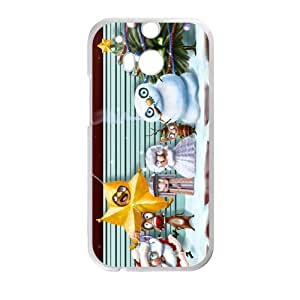 Merry Christmas fashion practical Phone Case for HTC One M8