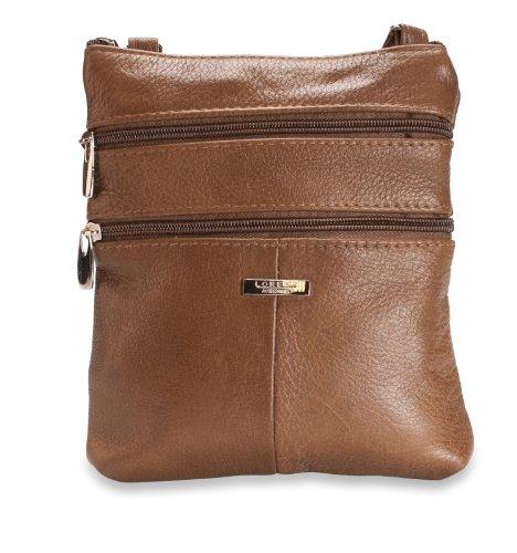 Lorenz Tan Leather 3738 1 Handbag HF7rH