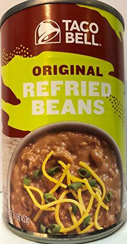 Taco Bell Refried Beans - Taco Bell ORIGINAL REFRIED BEANS 16oz (6 Pack)