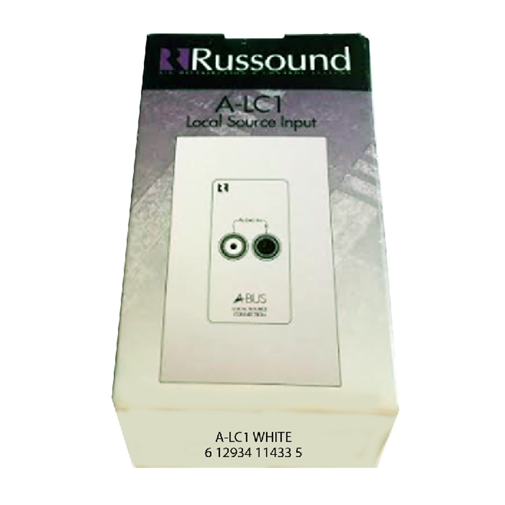 Russound A Lc1 Local Source Input White Electronics Volume Control