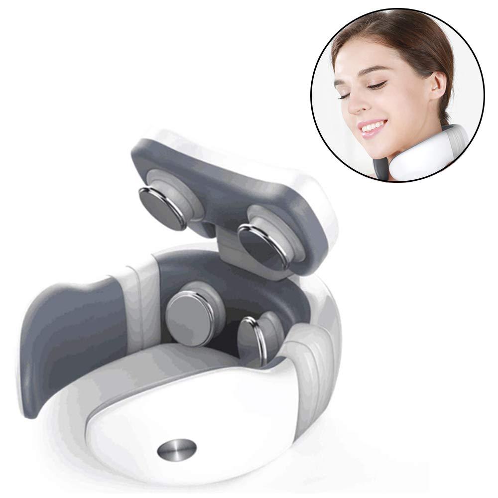 首のマッサージャー - 多機能 - 電気心拍数 - 筋肉痛の軽減のための理性的な暖房 - 両親のために適した B07T9MWL1H