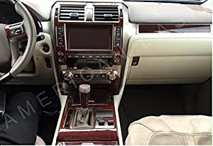 lexus gx460 gx 460 interior burl wood dash trim kit set 2014 2015 2016 2017 automotive