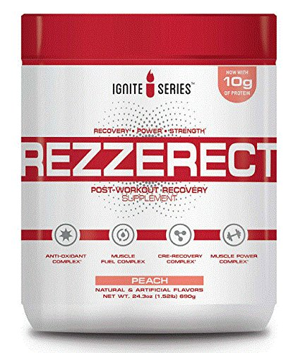 Complete Nutrition Ignite Series Rezzerect Post-Workout Recovery Supplement (Peach) (Complete Nutrition Whey Protein)