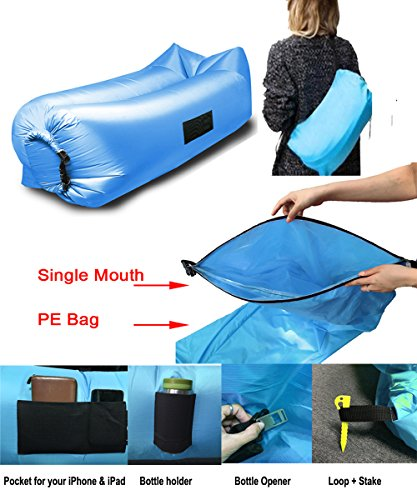 Inflatable Lounger Couch Portable Waterproof product image