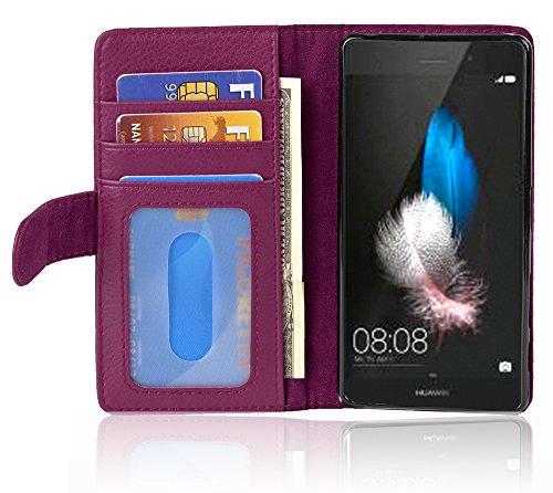 Cadorabo - Funda >                          Huawei ASCEND P8 LITE                          < Book Style de Cuero Sintético en Diseño Libro