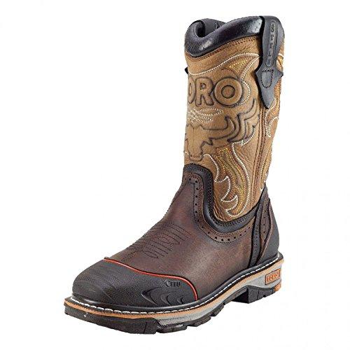"Toro Bravo TRC3P 10"" Brown Boots"