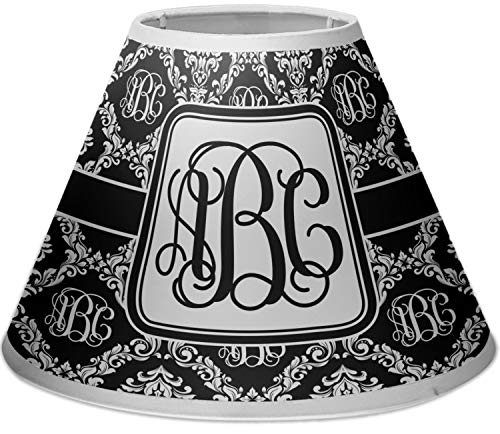 RNK Shops Monogrammed Damask Empire Lamp Shade (Personalized)