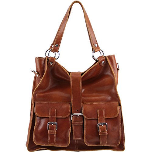 Tuscany Leather Melissa Lady leather bag Honey by Tuscany Leather