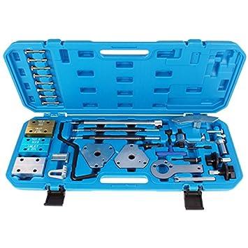 tecpo nocke Ondas bloqueo Juego de herramientas Herramientas de ajuste de motor Fiat Opel Alfa 146: Amazon.es: Bricolaje y herramientas