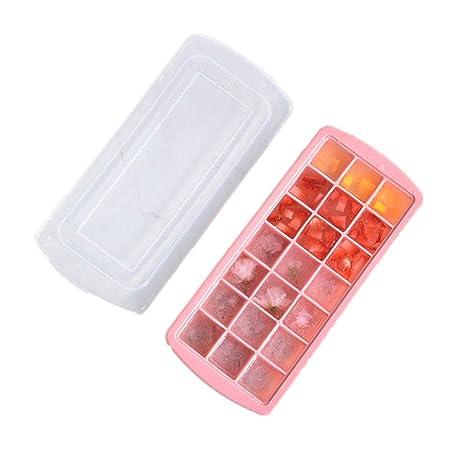 Compra Gran molde de hielo Placa de hielo flexible apilable 21 con ...