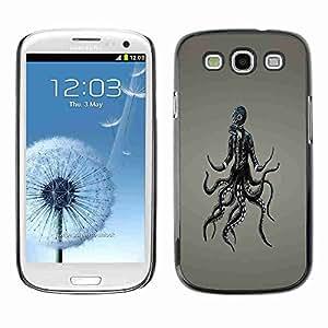 Planetar® ( Goth Punk Gasmask ) Fundas Cover Cubre Hard Case Cover Samsung Galaxy S3 III / i9300 i717