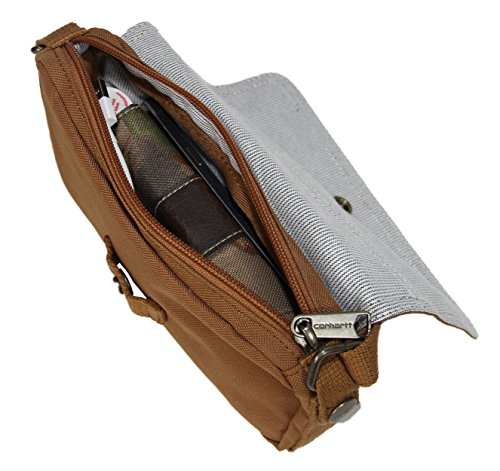 Brown Black Bag Carhartt Essentials Waist and Pouch Women's Legacy Carhartt Crossbody qIav8vw