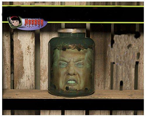 President Head in Jar Horror Art / Halloween Decor / Haunted House Prop-Funny (Halloween Decorations Jars)