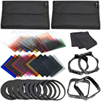 XCSOURCE Complete Square Kit Filter for Cokin P Series Bundle with Filter Holder and Lens Hood LF141 (16 Items)